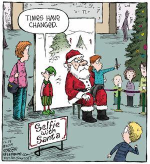 santa selfie                                                                                                                                                      More