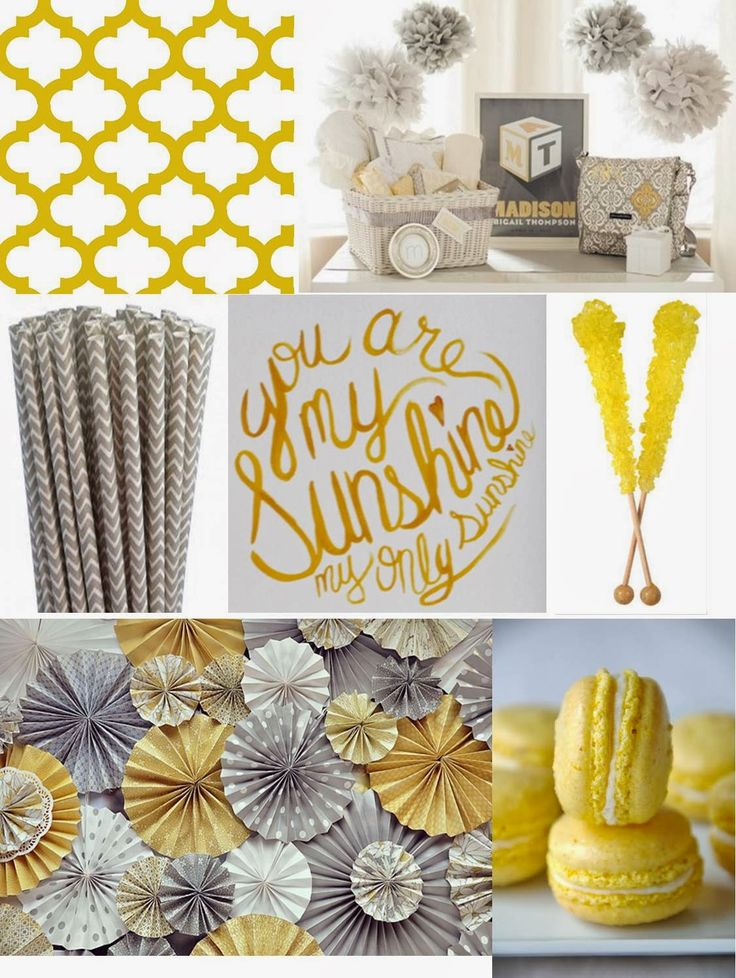 rnlMusings: You are my Sunshine Baby Shower