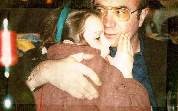 Picture of Bob Hoskins with daughter Rosa Hoskins, posted on her Facebook page - link to some excellent advice.