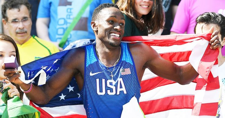 Olympian Will Claye proposed to his girlfriend, hurdler Queen Harrison, after…