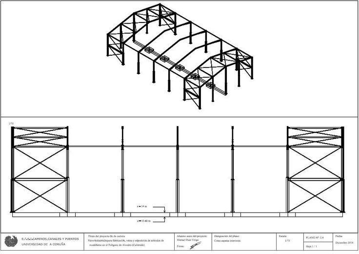 1082. Ruiz Veiga, M. (2014). Nave industrial para la fabricación, venta y exposición de artículos de modelismo en el Polígono de Alvedro (Culleredo). EFIFICACIÓN