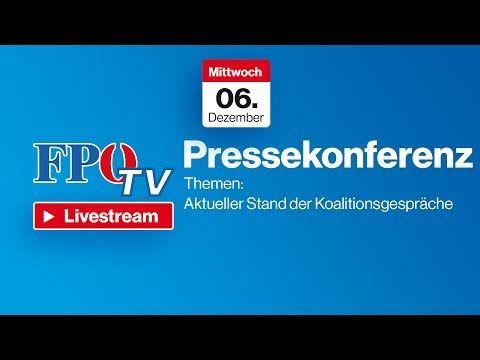 Pressekonferenz - Aktueller Stand der Koalitionsgespräche - YouTube