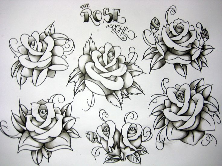 Top Skull Rose Coffin Images for Pinterest Tattoos