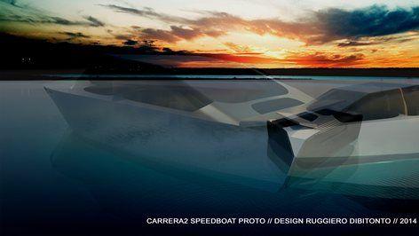 CARRERA SPEEDBOAT PROTOTYPE, 2015 - Ruggiero Dibitonto