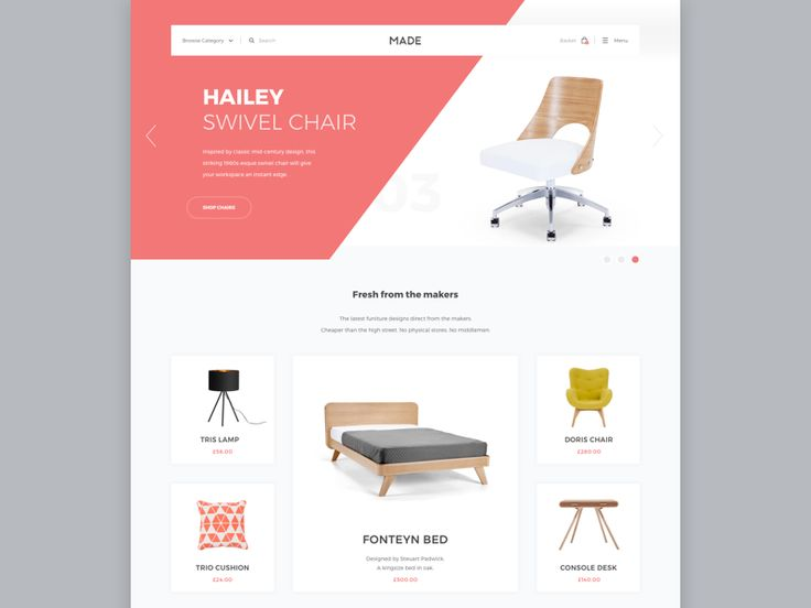 Made com   Furniture website. 217 best Store images on Pinterest   Interface design  Ui kit and