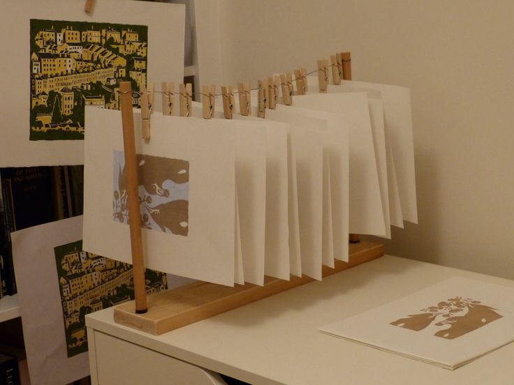 Great idea! Print drying rack. I must make one.