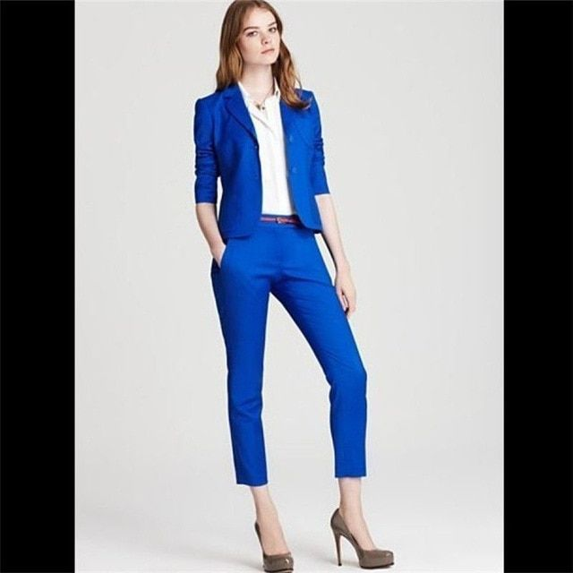 Aoc Navy Pant Suit