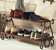 shoe rack   Pottery Barn