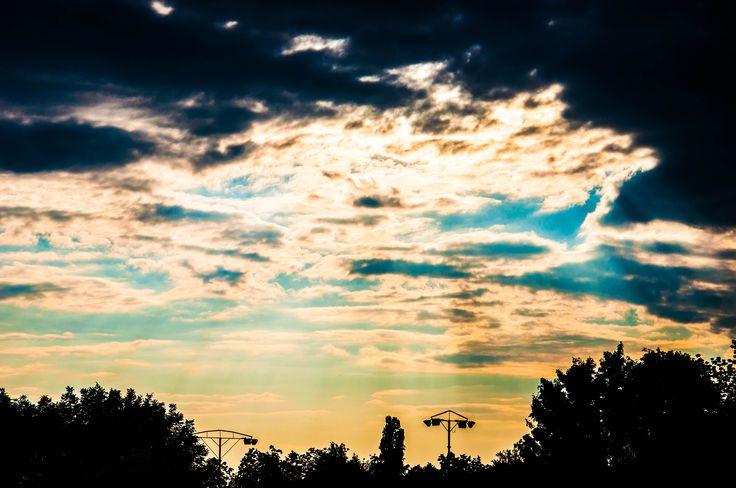 Like a  sunset