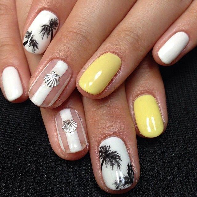 Spring Nail Art ❤ ❤️ #nail #nails #nailart #unha #unhas #unhasdecoradas