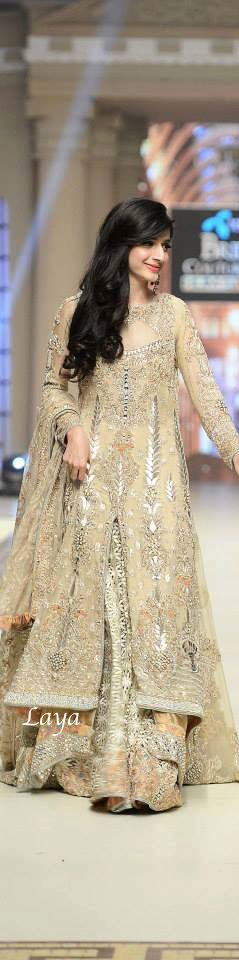 TBCW2014 Day -1 PAKISTANI Fashions❋Laya #MuslimWedding, www.PerfectMuslimWedding.com