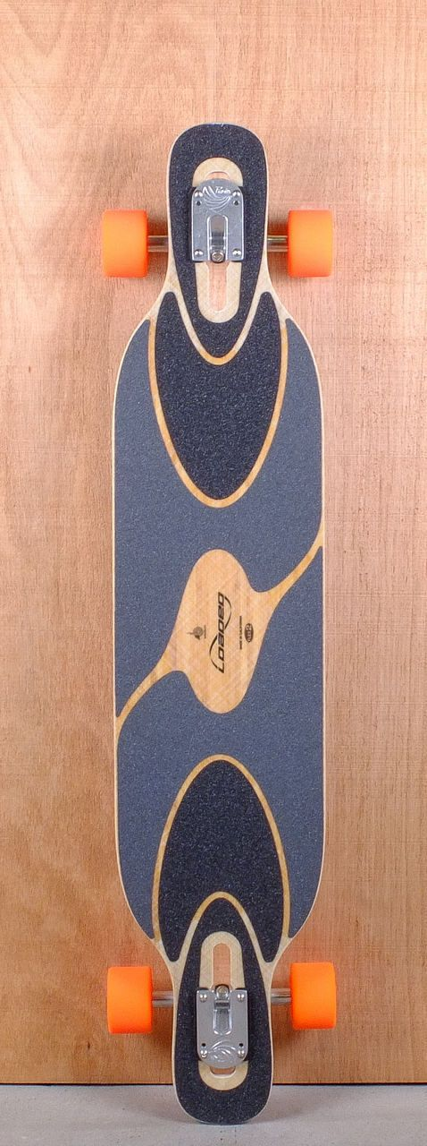 "Loaded 43"" Dervish Sama Flex 3 Longboard Complete Top"