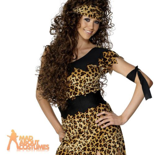 #Ladies cavewoman #costume cave girl prehistoric womens fancy #dress outfit uk 8-,  View more on the LINK: http://www.zeppy.io/product/gb/2/161347618896/
