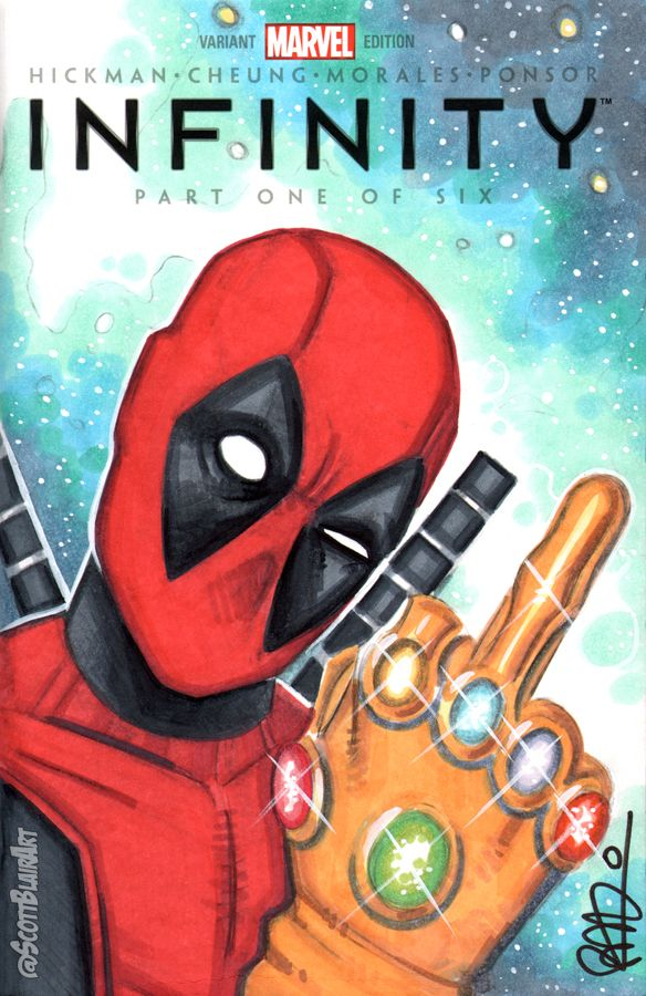Deadpool Infinity Gauntlet - Scott Blair