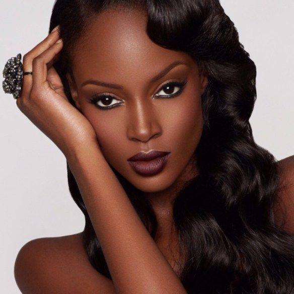 Blaq Vixen Beauty names several popular vampy lipsticks for brown skin worn by Lupita Nyong'o, Kelly Rowland, Uzo Aduba, Viola Davis, Danai Gurira & more