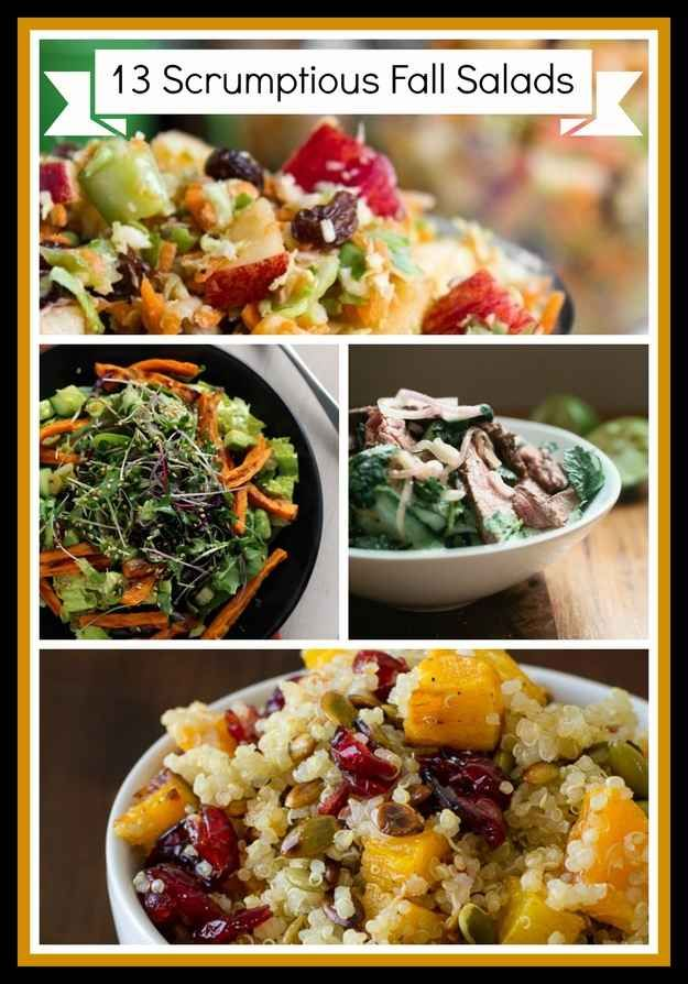 Community: 13 Scrumptious Fall Salads