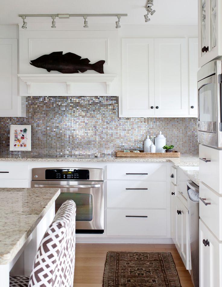 Les 114 meilleures images à propos de Kitchens sur Pinterest - carrelage mur cuisine moderne