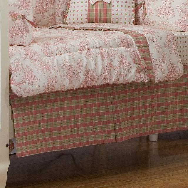 Victorian toddler bedding