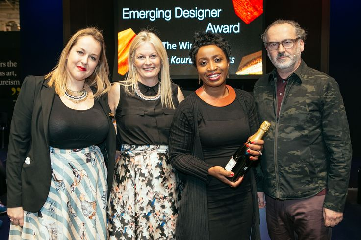 The Display Awards at Pure London celebrated the most innovative and enticing stands at the show. Picked by Stephen Hall, Visual Merchandising Expert, River Island, stands were selected on their commercial and creative merit. Congratulations to Ioanna Kourbela - Best Emerging Brand stand