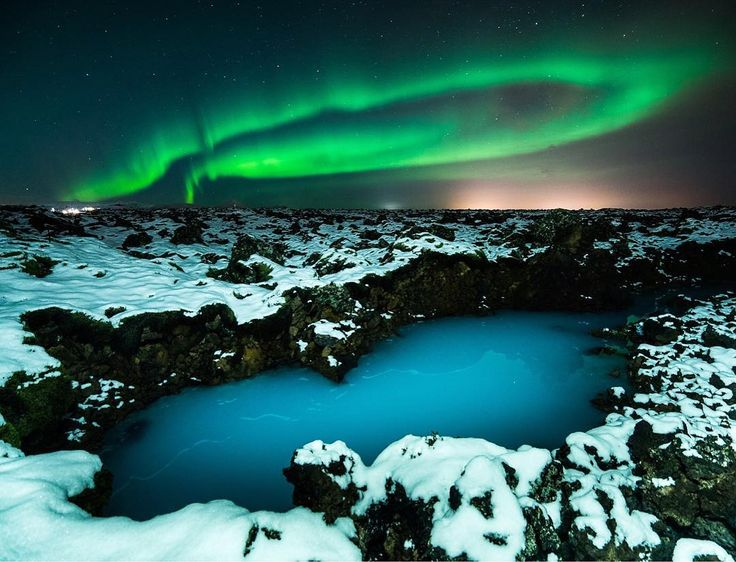 17 best Northern Lights at Blue Lagoon images on Pinterest ...