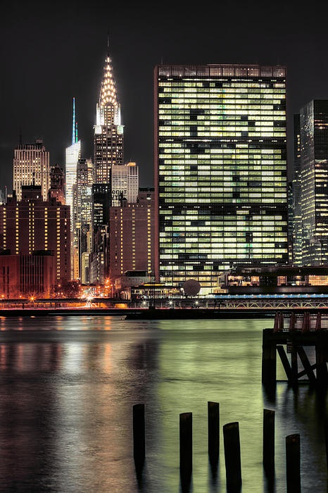United Nations, Chrysler Building, Bank of Amarica Tower - NYC