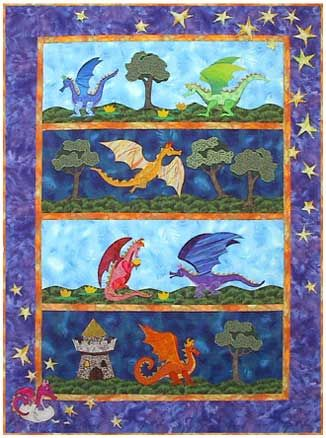 12 best Quilts about Medieval Times images on Pinterest | Baby ... : crazy quilt dragon - Adamdwight.com