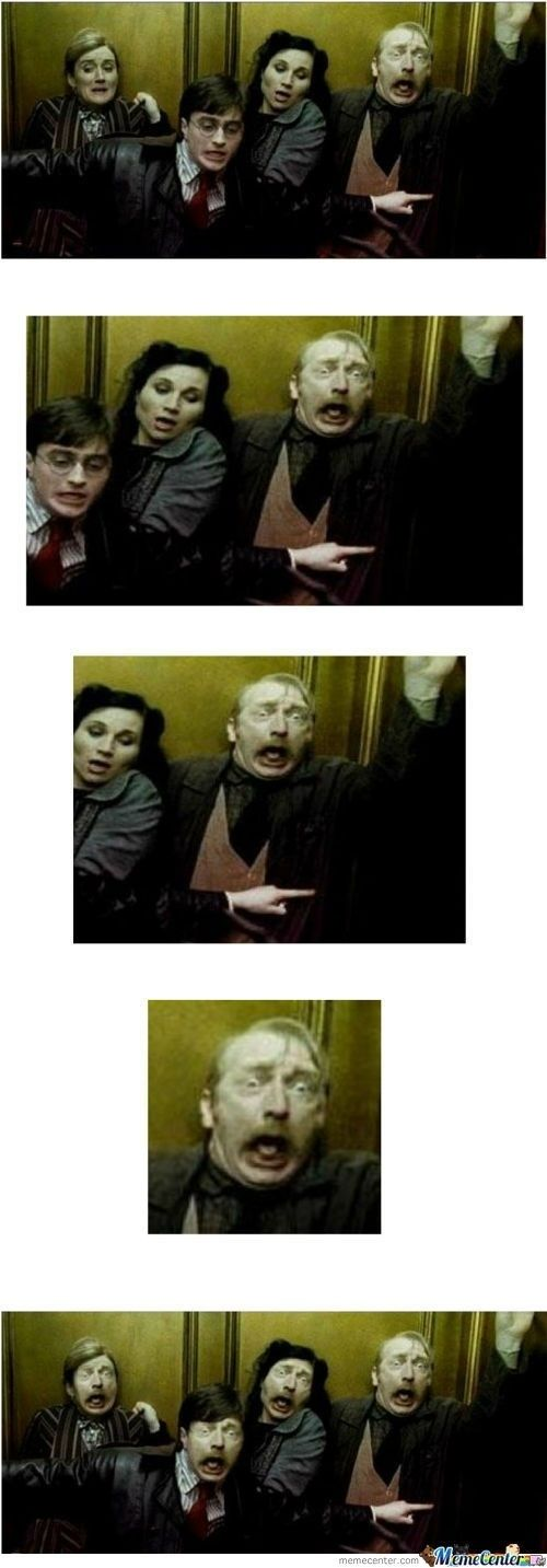 The Ministry Of Magic Photobomb   The 22 Absolute Best Photobomb Faceswaps