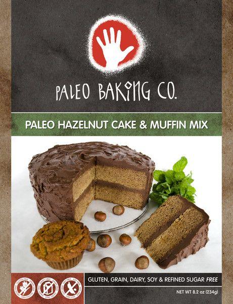 Paleo Baking Co. Hazelnut Cake & Muffin Mix