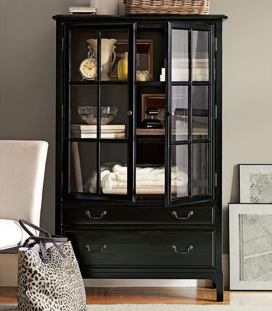 Bronson Bookcase. I want something like this for the dining room