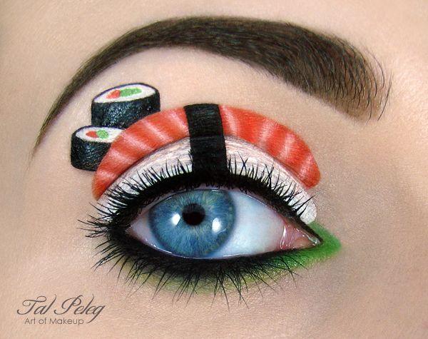 Maquillage des yeux Art par Tal Peleg