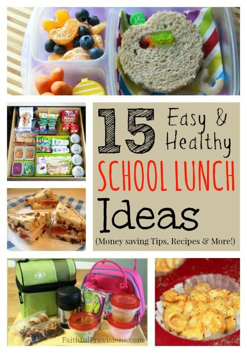 School lunch ideas healthy recipes and money saving tips for Lunch food ideas