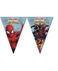 Spiderman Flama Bayrak