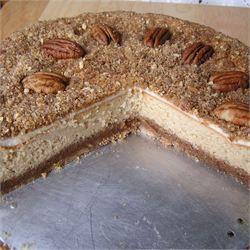 Pecan Cheesecake - Allrecipes.com
