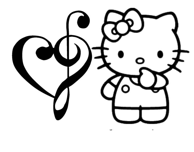 Hello Kitty Giant Coloring Pages