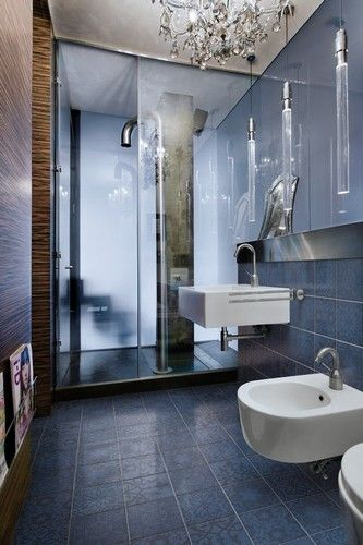 decorative ceramic tiles for hotel bathrooms / Minoo by Marcel Wanders for Ceramica Bardelli