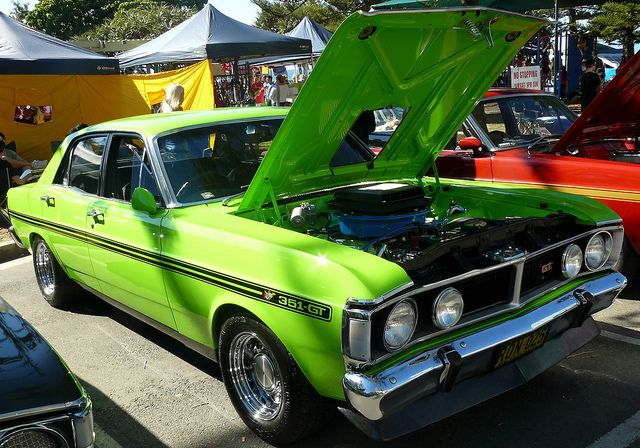 AUSSIE MUSCLE CARS..
