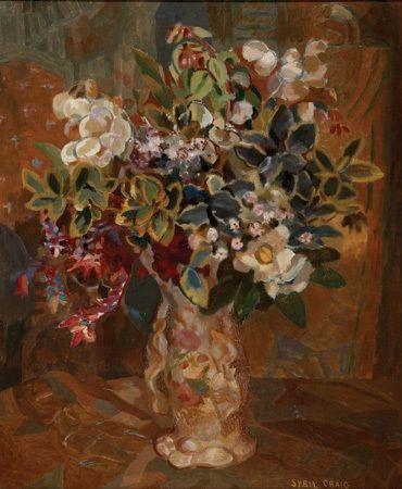 Flower piece by Sybil Craig
