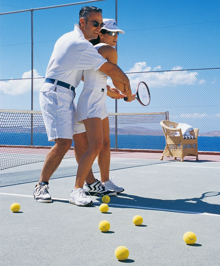 Wouldn't be great to play some tennis with your loved one? Mykonos Grand's tennis facility is open for play daily. Whether you need a lesson or a partner to hit with, our Pro is available at your request. Racquets and balls available at the front desk. Use of tennis facility is free of charge