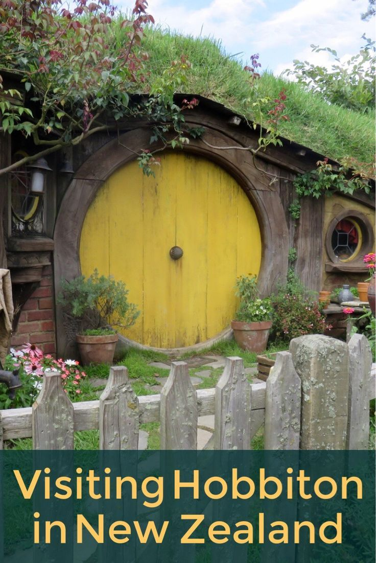 Visiting Hobbiton in New Zealand. A definite bucket list item for Lord of the Rings and Hobbit fans!