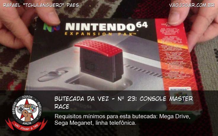 Butecada Da Vez - Nº 23: Console Master Race - Requisitos mínimos para esta butecada: Mega Drive, Sega Meganet, linha telefônica. #VaoJogar #VideoGame #VideoGames #Jogos #Games #Microsoft #Sony #PC #MasterRace