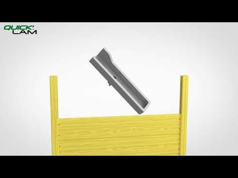 Installer les palissades Quick'Lam avec Leroy Merlin. Leroy Merlin vous invite à découvrir comment installer les palissades Quick'Lam. Découvrez les 20 produits « palissade Quick'Lam » sur Leroymerlin.fr