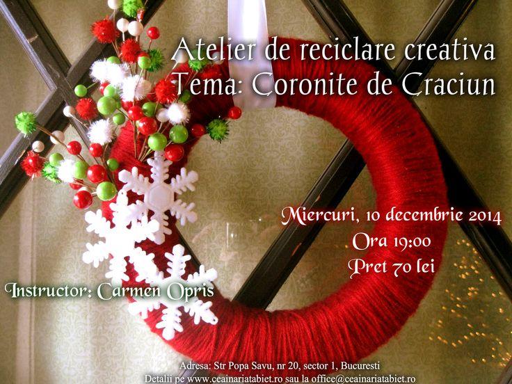 http://www.ceainariatabiet.ro/atelier-de-reciclare-creativa-tema-coronite-de-craciun/