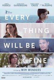 Every Thing Will Be Fine van Wim Wenders (gezien: 2015)
