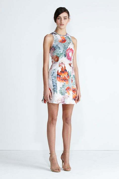 Secret South SS13/14 collection. Amber Dress in Red Floral. www.secretsouth.com.au