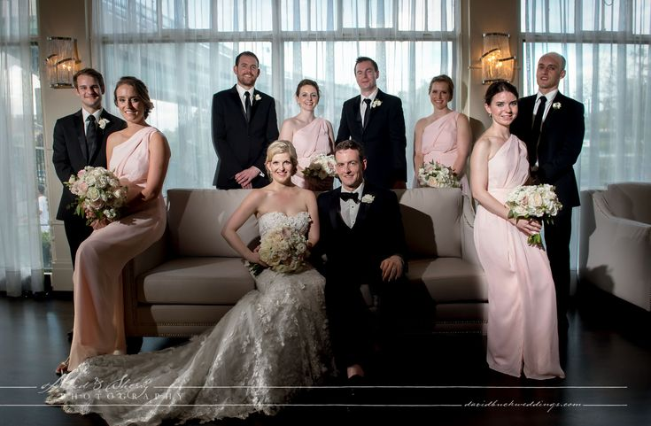 Vanity Fair style Bridal Party