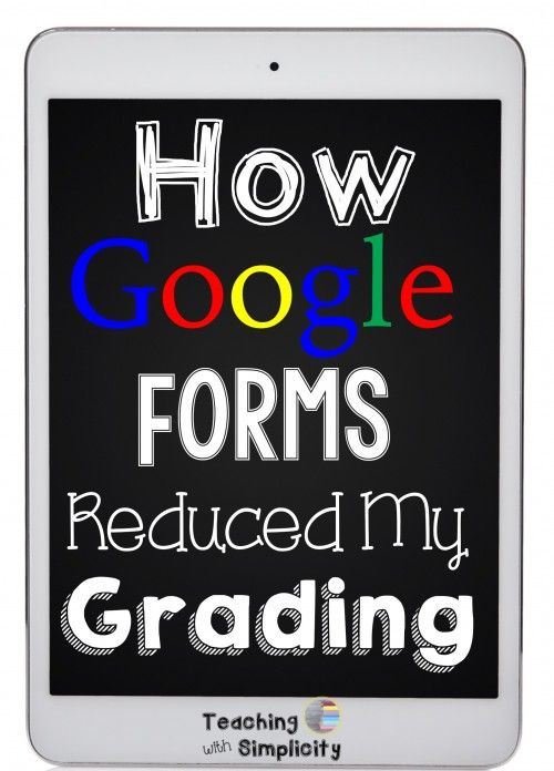 How did I not know this?!?! Google Forms are not new of course, but automatically grading an assignment I collected within Google Forms?? An add-on for Google Forms that will grade for you!!!! ...