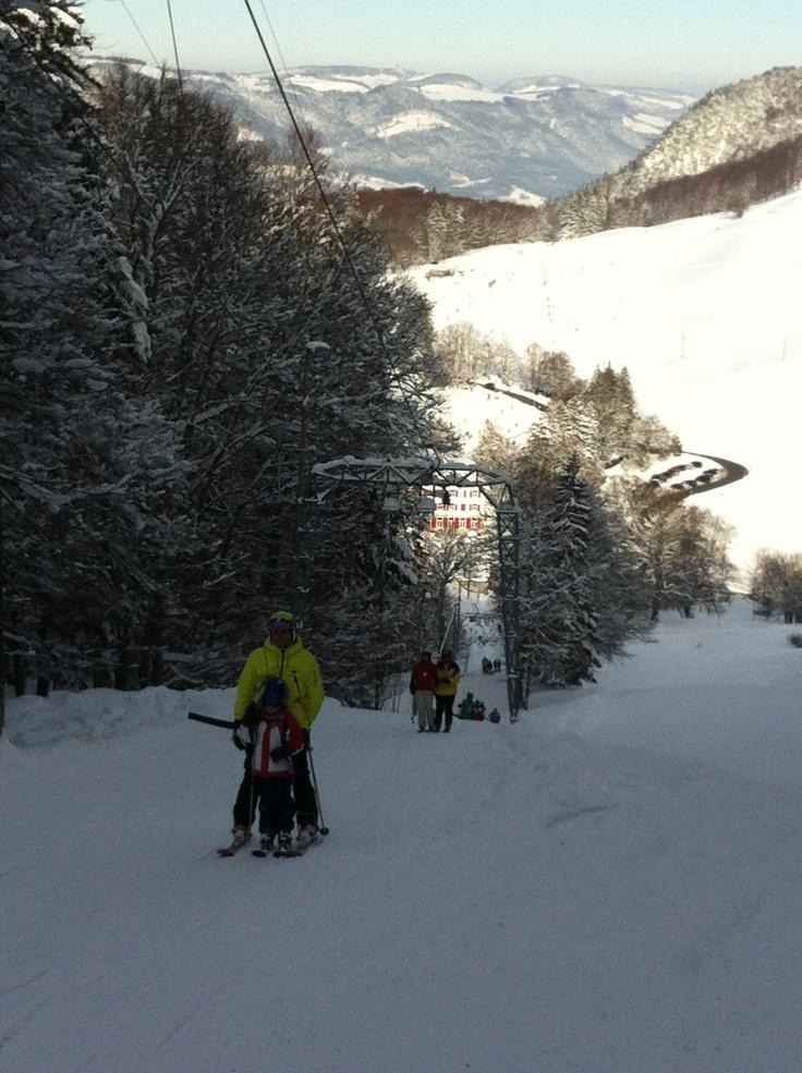 9. Feb 2013 - Balmberg - Skilift Kähle