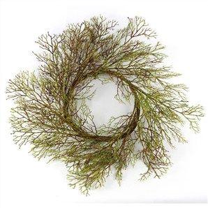 Green Twig Wreath - 60cm