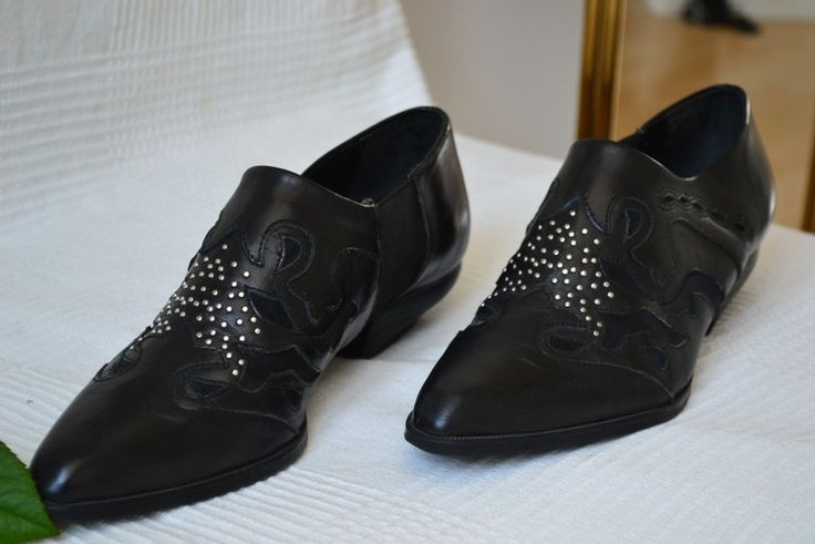 SALE! Zara premium black leather ankle boots, Gr. 39 - kleiderkreisel.de