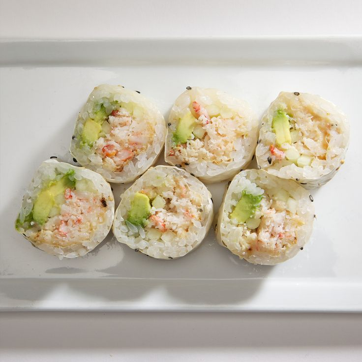 Snow Crab Roll | Kabuki Specialty Rolls | Pinterest